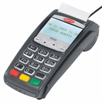 Ingenico ICT 220 DC EMV Credit Card Terminal -  None - Refurbished - DCCSUPPLY.COM
