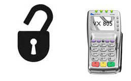 Unlock, Untamper, Clear Passwords from Verifone Vx805 PIN Pad - DCCSUPPLY.COM