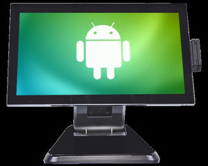"12"" Android POS System with A17, 2G RAM, 8G Flash, Android 8.1, 12N-RM-BL"