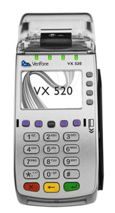 VeriFone Vx520 EMV Contactless 64MB Credit Card Terminal