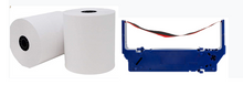 "Load image into Gallery viewer, 3"" x 165' Paper (50 Roll Case) and 1x Star RC700BR Ink Bundle"