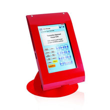 Load image into Gallery viewer, MMF POS Locking Tablet Enclosure Case with Stand for 7-8 Inch Tablets, Red (MMFTE081107)