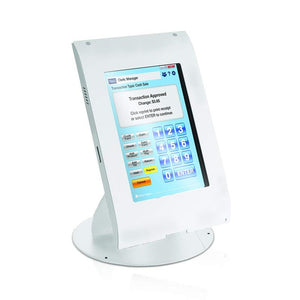 MMF POS Locking Tablet Enclosure Case with Stand for 7-8 Inch Tablets, White (MMFTE081106) - DCCSUPPLY.COM