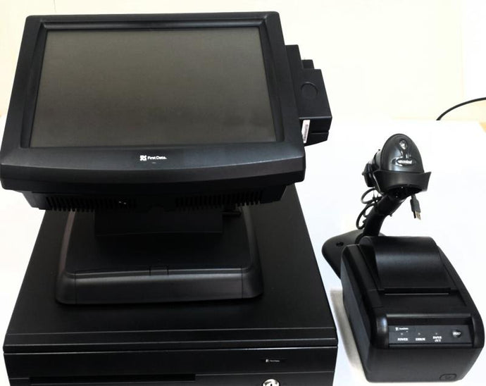 Posiflex Jiva TP8315 POS Terminal Bundle - Refurbished