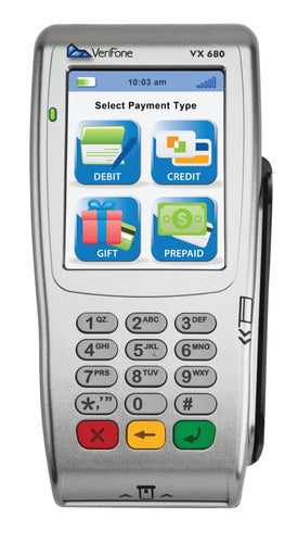 Verifone Vx680 3G EMV Wireless Terminal - Refurbished - DCCSUPPLY.COM