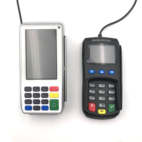 PAX A80 Countertop Smart Card Terminal and SP30 Mono PIN Pad Bundle - DCCSUPPLY.COM