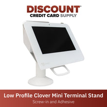 Load image into Gallery viewer, Clover Mini Low Profile Swivel and Tilt Metal Stand