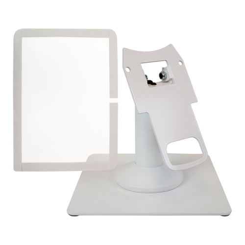 Clover Mini Freestanding Swivel and Tilt Metal Stand and Screen Protector - DCCSUPPLY.COM