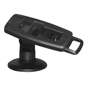 "VESA Bracket with 3"" Key Locking Compact Pole Mount Terminal Stand - DCCSUPPLY.COM"