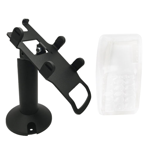 Verifone Vx805 Swivel and Tilt Stand and Full Device Protective Cover - DCCSUPPLY.COM