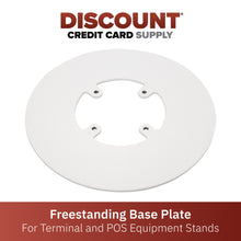 Load image into Gallery viewer, Freestanding Round Base Plate - White - DCCSUPPLY.COM