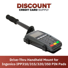 Load image into Gallery viewer, Drive-Thru Hand Held Bracket/Mount for Ingenico IPP310/315/320/350 - DCCSUPPLY.COM