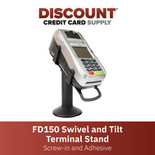 Load image into Gallery viewer, First Data FD150 Swivel and Tilt Metal Stand