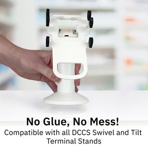 DCCStands Swivel Stand Replacement Adhesive Pads (2x) - DCCSUPPLY.COM