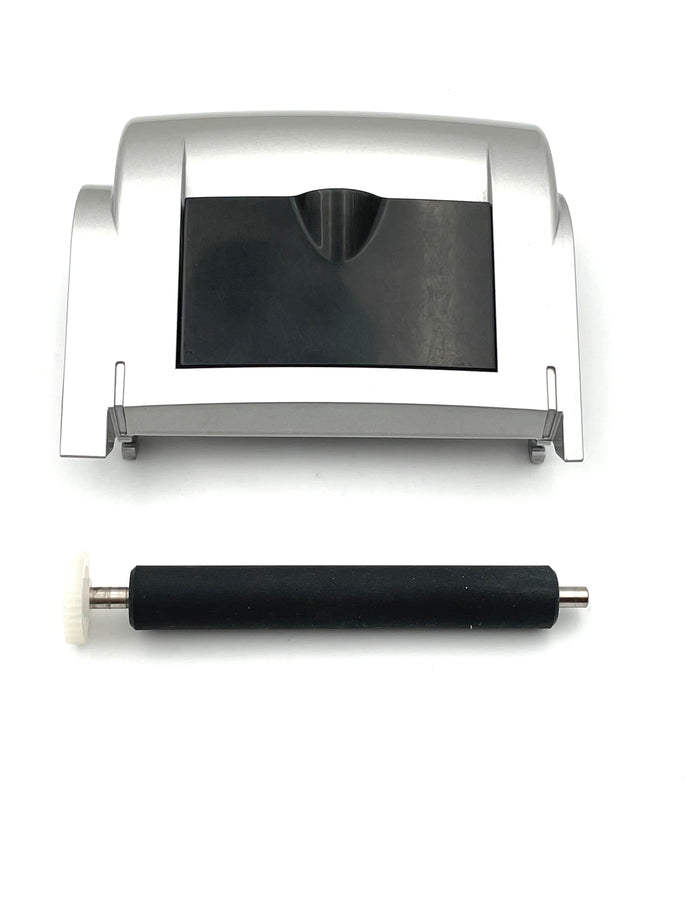 First Data FD200ti Terminal Paper Roller and Refurbished Paper Cover - DCCSUPPLY.COM