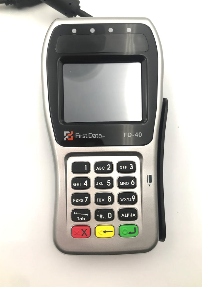 First Data FD-40 PINpad - Refurbished - DCCSUPPLY.COM