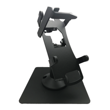 Load image into Gallery viewer, Verifone Vx520 Key Locking Freestanding Swivel and Tilt Metal Stand
