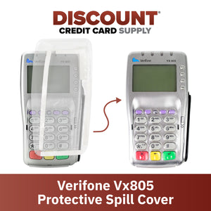 Verifone Vx805 Full Device Protective Spill Cover