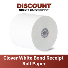 "Load image into Gallery viewer, 3"" x 165' Bond Paper Rolls (25 Roll Case)"