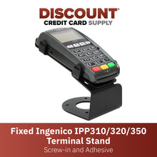 Load image into Gallery viewer, Ingenico IPP 310/315/320/350 Fixed Metal Stand - DCCSUPPLY.COM