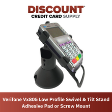 Load image into Gallery viewer, Verifone Vx805 Low Profile Swivel and Tilt Metal Stand - DCCSUPPLY.COM