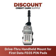Load image into Gallery viewer, Drive-Thru Hand Held Bracket/Mount for First Data FD35/ FD40 PINpad - DCCSUPPLY.COM