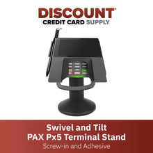 Load image into Gallery viewer, PAX Px5 Swivel and Tilt Metal Stand