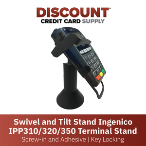 Ingenico IPP 310/315/320/350 Key Locking Stand - DCCSUPPLY.COM