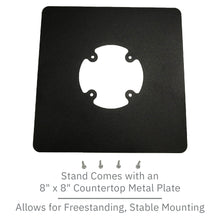 Load image into Gallery viewer, PAX Px7 Freestanding Swivel and Tilt Metal Stand - DCCSUPPLY.COM