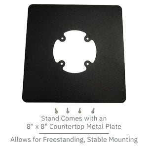 PAX Px7 Freestanding Swivel and Tilt Metal Stand - DCCSUPPLY.COM