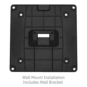 "VESA Bracket with 7"" Key Locking Wall Mount Terminal Stand - DCCSUPPLY.COM"