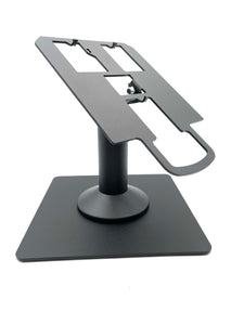 Verifone Mx915 / Mx925 Freestanding Swivel and Tilt Metal Stand with Square Plate - DCCSUPPLY.COM