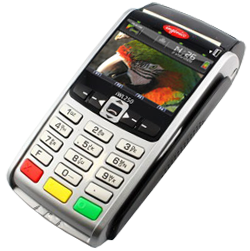 Ingenico IWL 250/255 3G Wireless Credit Card Terminal - Refurbished - DCCSUPPLY.COM
