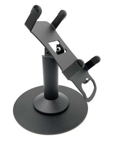 Verifone Vx520 Freestanding Swivel and Tilt Metal Stand with Round Plate - DCCSUPPLY.COM