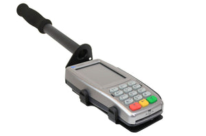 Drive-Thru Handheld Mount & Protective Spill Cover for Verifone Vx805 PIN Pad - DCCSUPPLY.COM
