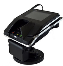 Load image into Gallery viewer, ENS Verifone Mx915/925 Low Contour Stand (367-3213) with Round Metal Base Plate - DCCSUPPLY.COM