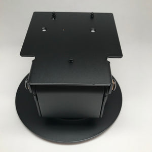 PX5 and PX7 Low Contour Swivel Stand (367-3884) with Round Freestanding Plate (367-0731-B) - DCCSUPPLY.COM