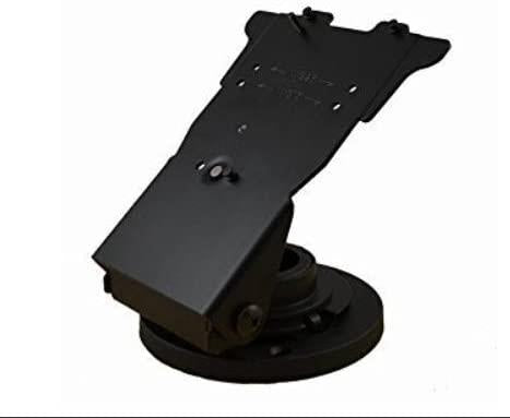 ENS Verifone Mx915/925 Low Contour Stand (367-2481) with Round Metal Base Plate - DCCSUPPLY.COM