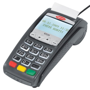 Ingenico ICT 220 DC EMV Credit Card Terminal-V2 - Refurbished