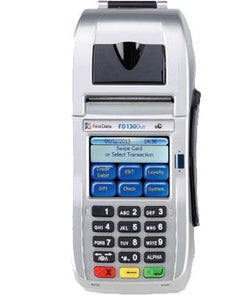 First Data FD-130 Duo Credit card Terminal - Refurbished - DCCSUPPLY.COM