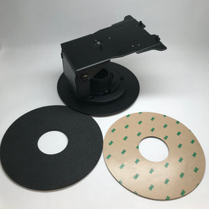 ENS Verifone Mx915/925 Low Contour Stand (367-3213) with Round Metal Base Plate - DCCSUPPLY.COM