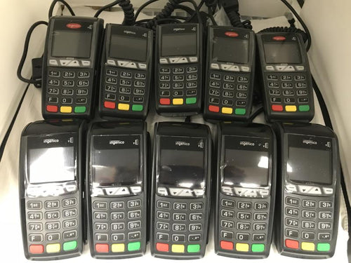 Ingenico ICT 250DC EMV Credit Card Terminal-V2 - Set of 10 - Refurbished - DCCSUPPLY.COM
