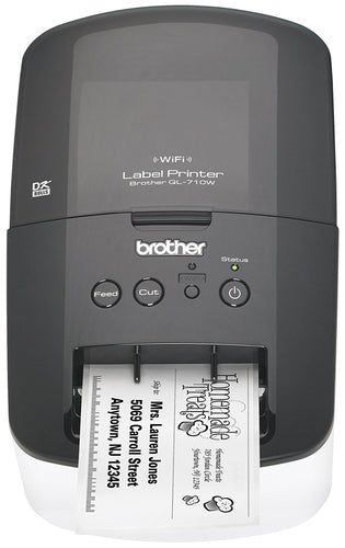 Brother Printer RQL710W High Speed Label Printer with Wireless Networking - DCCSUPPLY.COM