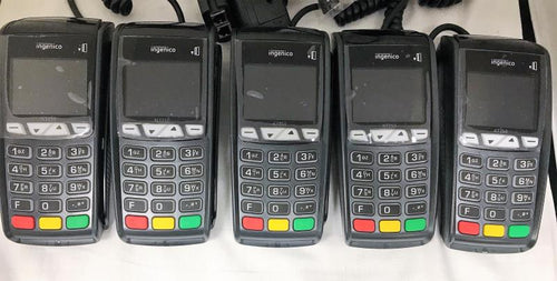 Ingenico ICT 250DC EMV Credit Card Terminal-V2 - Set of 5 - Refurbished - DCCSUPPLY.COM