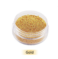 Gold Caviar Beads 0.6MM