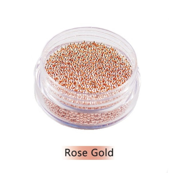 Rose Gold Caviar Beads 0.6MM