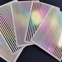 Rainbow Stripes Stickers