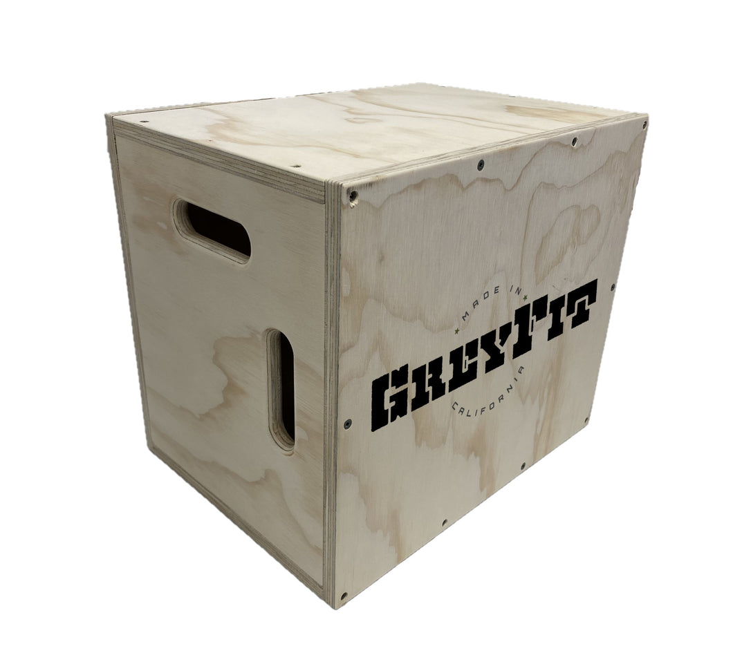 GreyFit Wood Plyo Box - Assembled