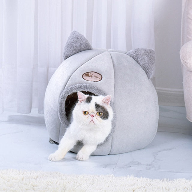 Foldable and Removable Self Warming  Cat Bed