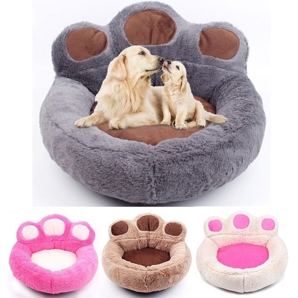 Luxury Bed Bear Claw Shape